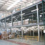 Create multi level mezzanine floors