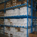 Total warehouse solutions with pallet racks