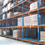 Increase storage with warehouse shelving